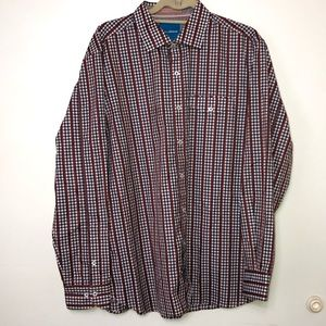 Men's Tommy Bahama Long Sleeve Button Down. Large